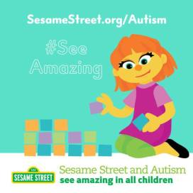 Sesame Street and Autism #SeeAmazing